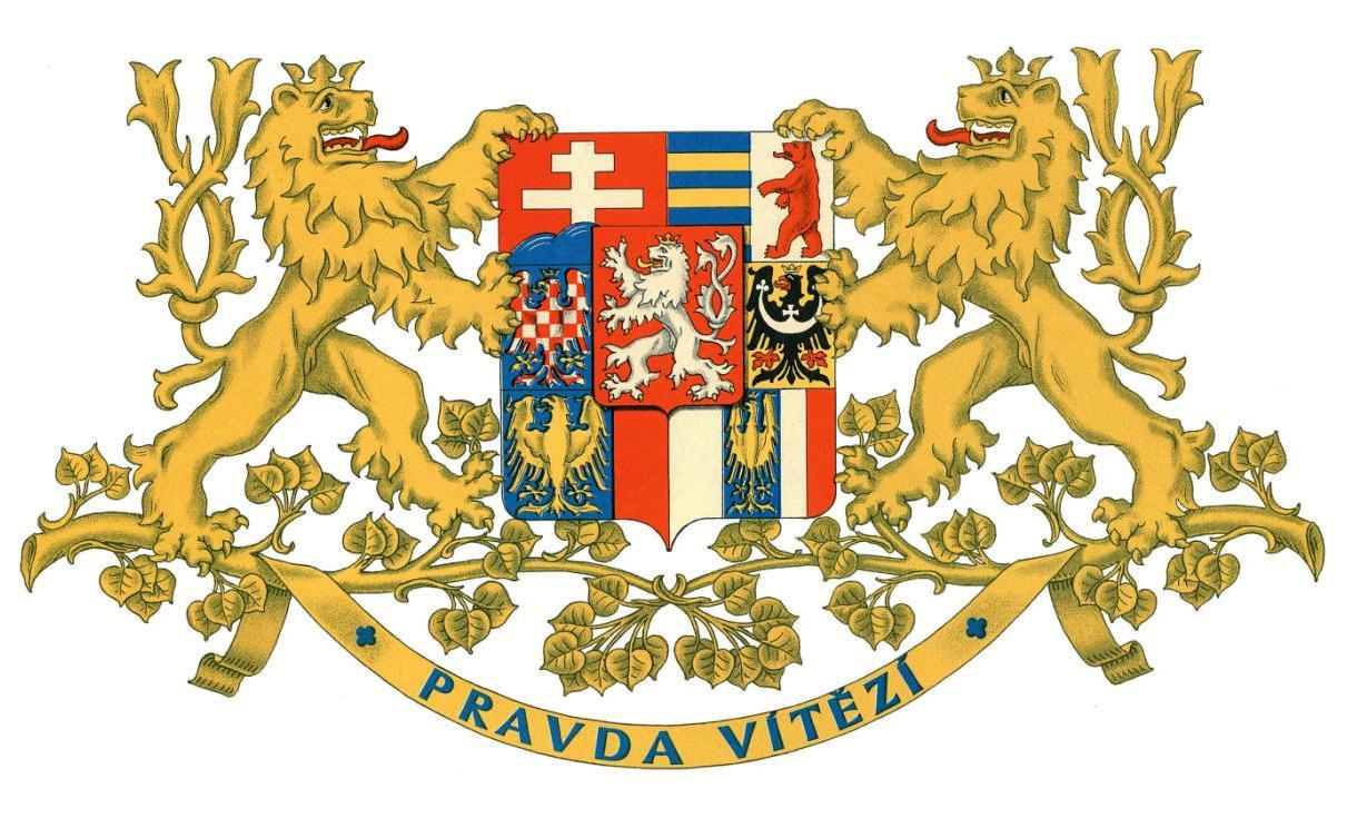 Výsledek obrázku pro státní znak československé republiky